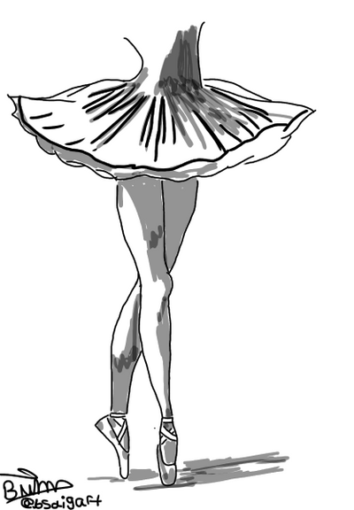 The ballerina  by GeekGirl2021