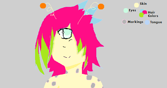 Alien Girl: With Antennae by sometimestheyknow
