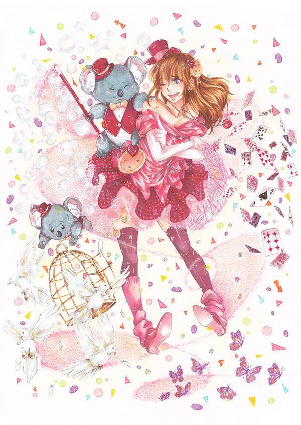 Cheeky Magic by Porukachii