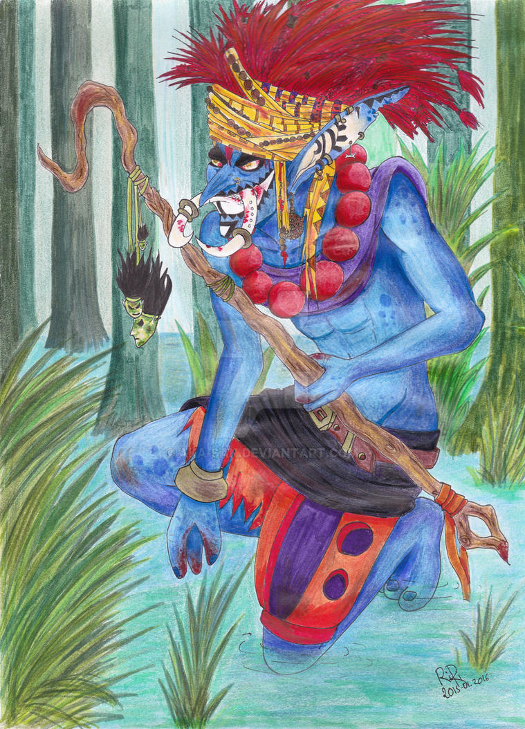 The Hunt of the Troll by Aka-san