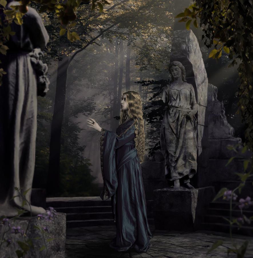 Elven Tranquillity by Kuldi
