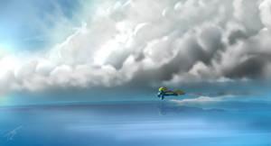 Solo Flight - Wonderbolt by TehShockwave