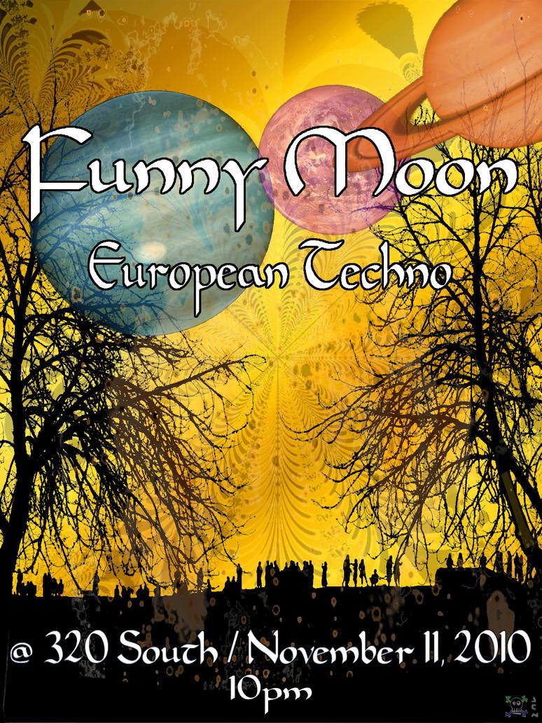 Funny Moon Flyer Nov 11 by jnelke