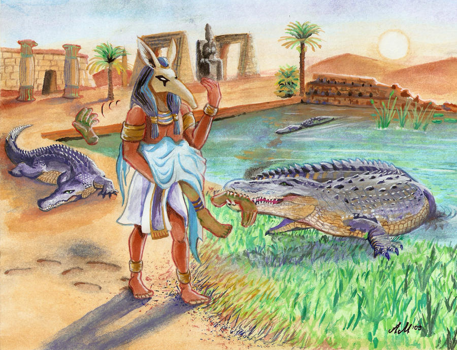 Set scatters Osiris' body parts across Egypt! (by Zanten)
