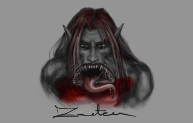 Kalyan tattoo WIP by Zanten
