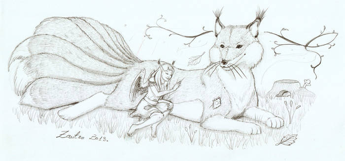 Alourn and Tibet - commission