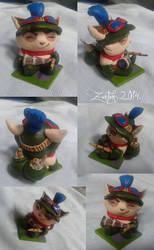 Captain Teemo figurine