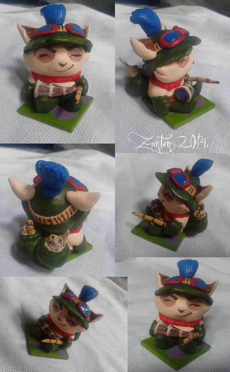 Captain Teemo figurine by Zanten