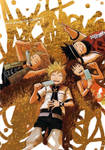 roxas and friends