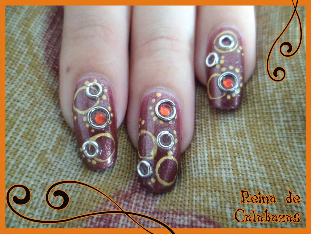 Steampunk nail art by anubis pumpkinqueen on deviantart steampunk nail art by anubis pumpkinqueen prinsesfo Images