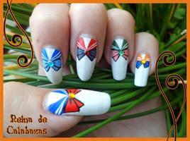Sailor Moon nail art