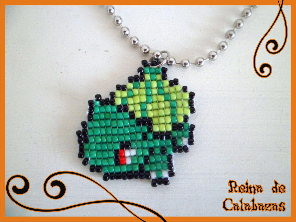 Bulbasaur pendant by anubis-pumpkinqueen