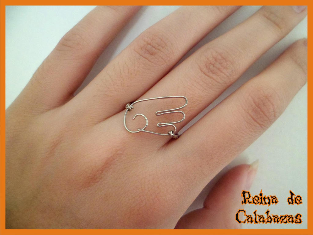 CLAMP wing ring by anubis-pumpkinqueen