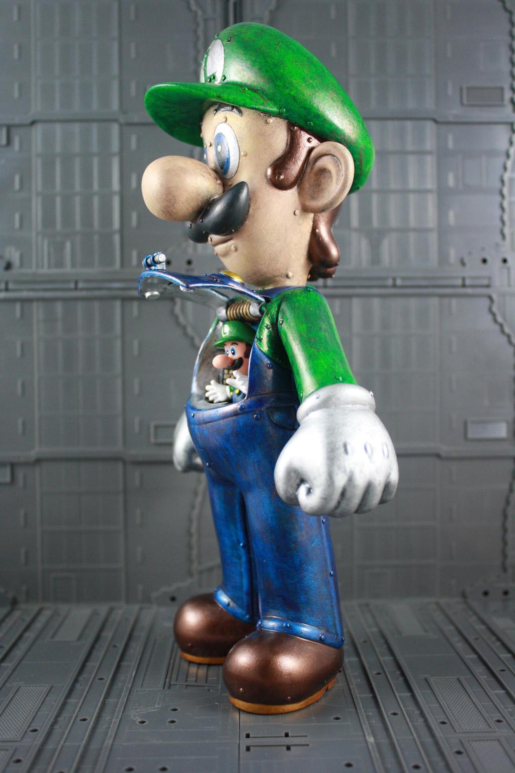 Luigi Mech Figure by kodykoala
