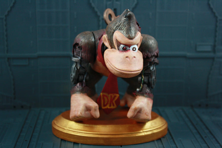Cyborg Donkey Kong by kodykoala