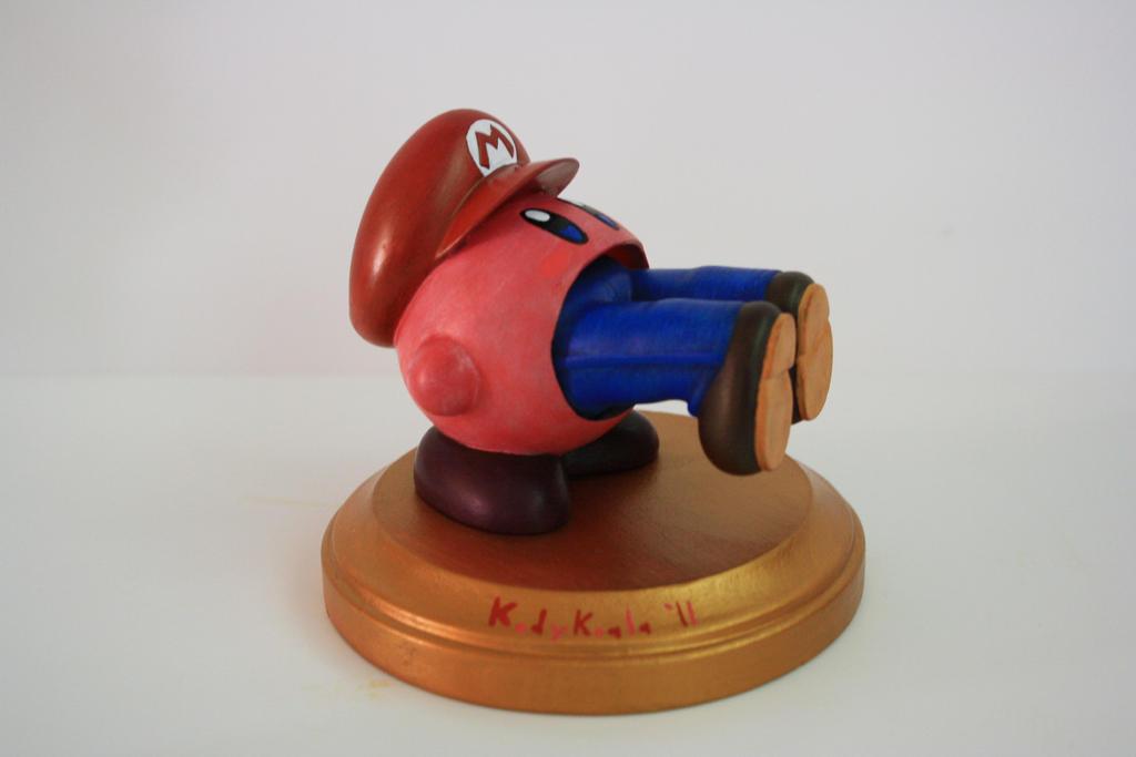 Kodykoala's Kirby Eats Mario by kodykoala