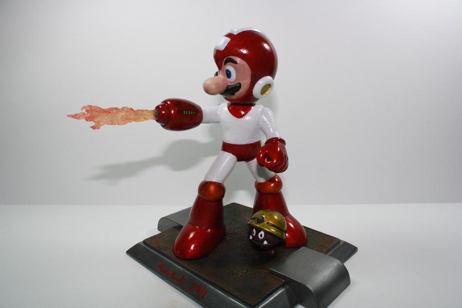 Kodykoala's Megaman Mario by kodykoala