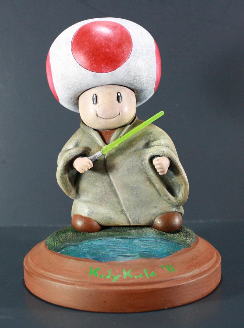 Kodykoala's Jedi Toad by kodykoala