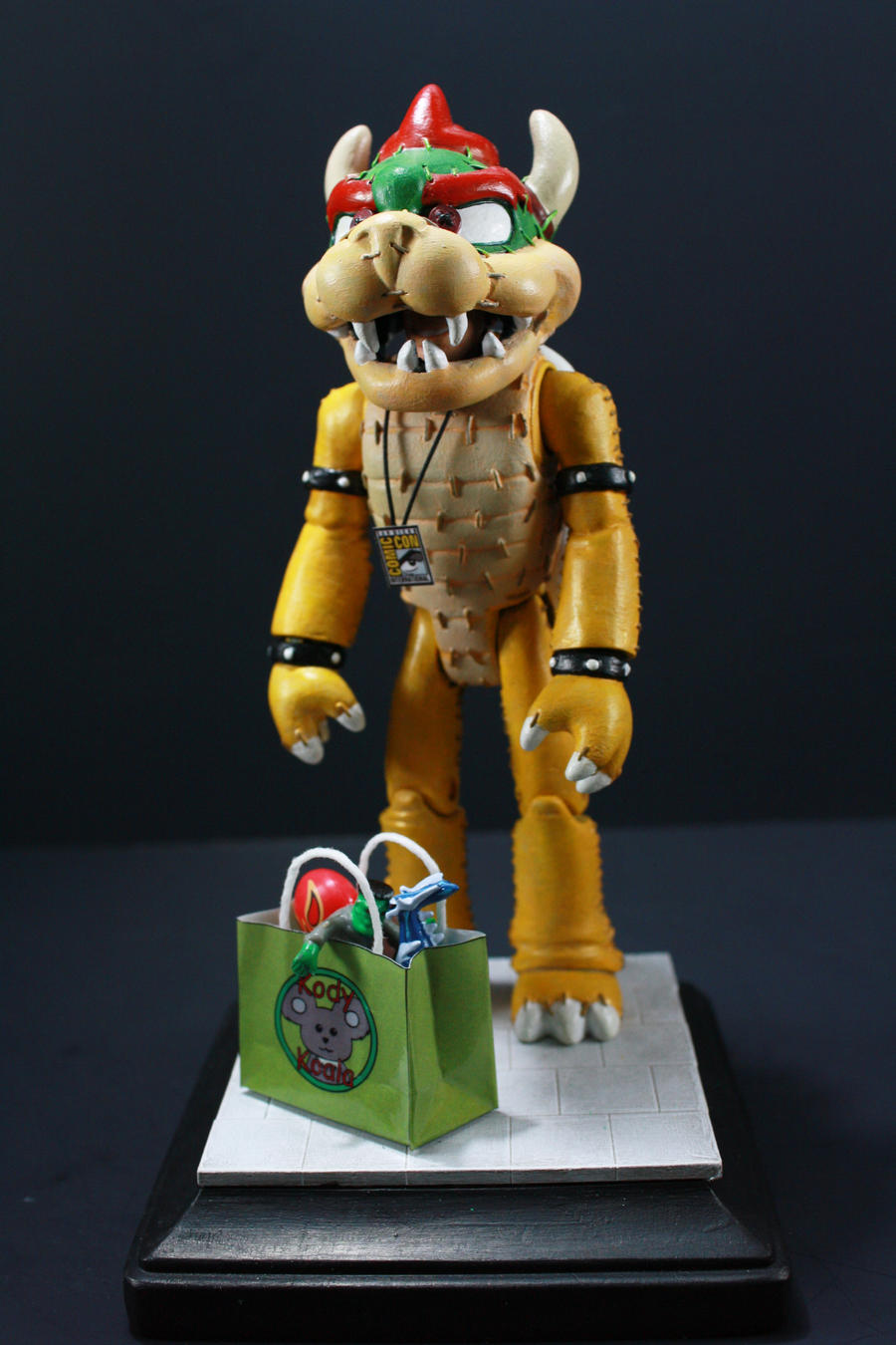 Bowser Cosplay Figure by kodykoala