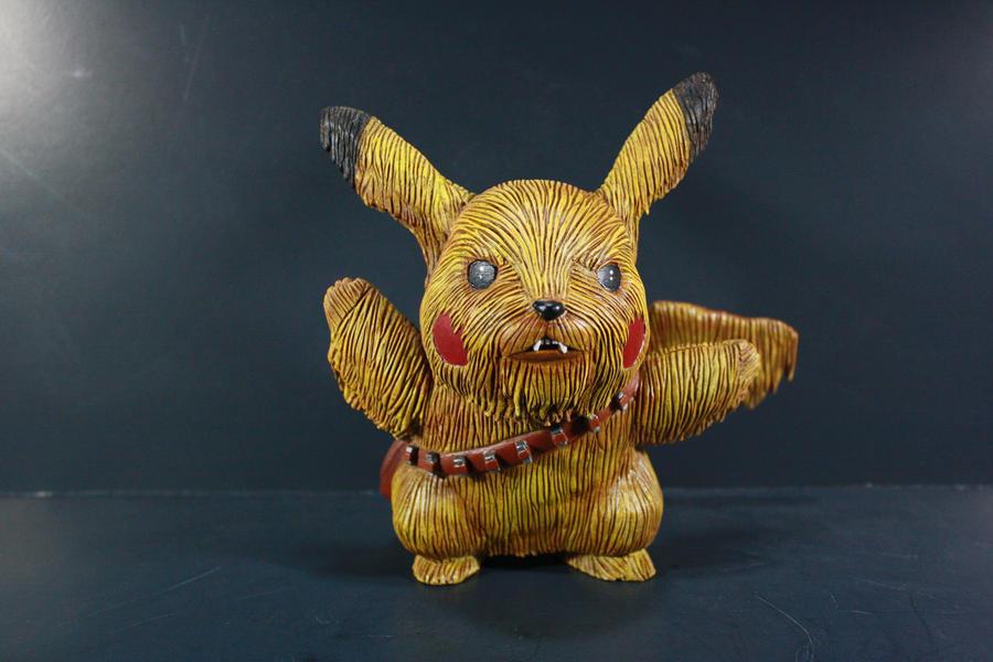 Pikachewie Figure by kodykoala