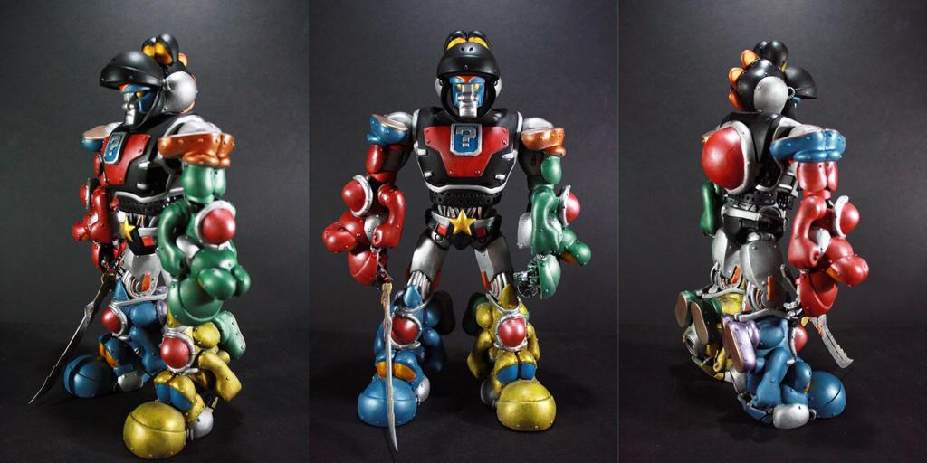 Voltron Yoshi Force by kodykoala