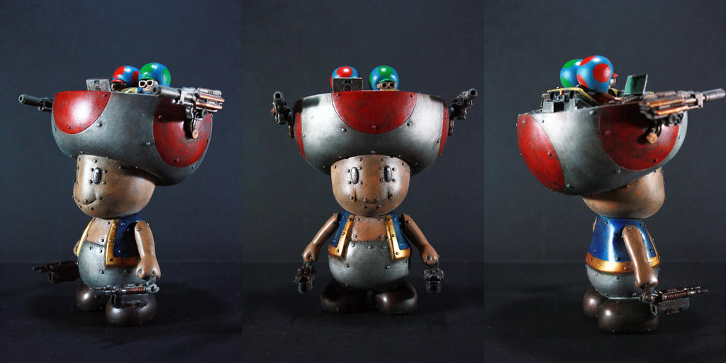 Kodykoala's Toad Mech by kodykoaal