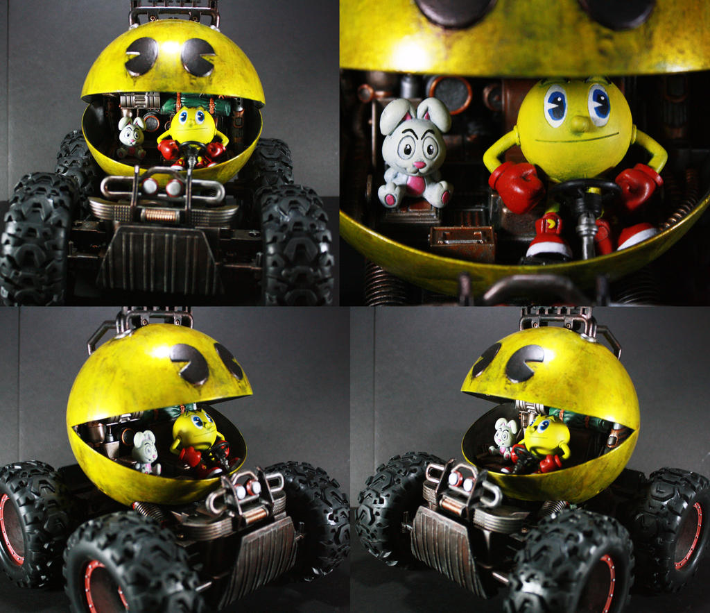 Kodykoala's Pacman Monster Truck by kodykoala