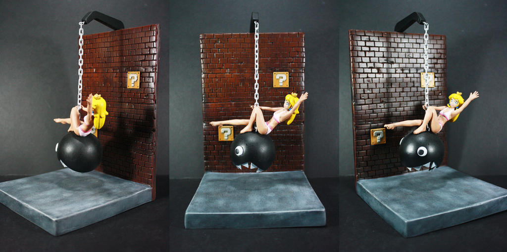 Princess Peach Wrecking Ball by kodykoala