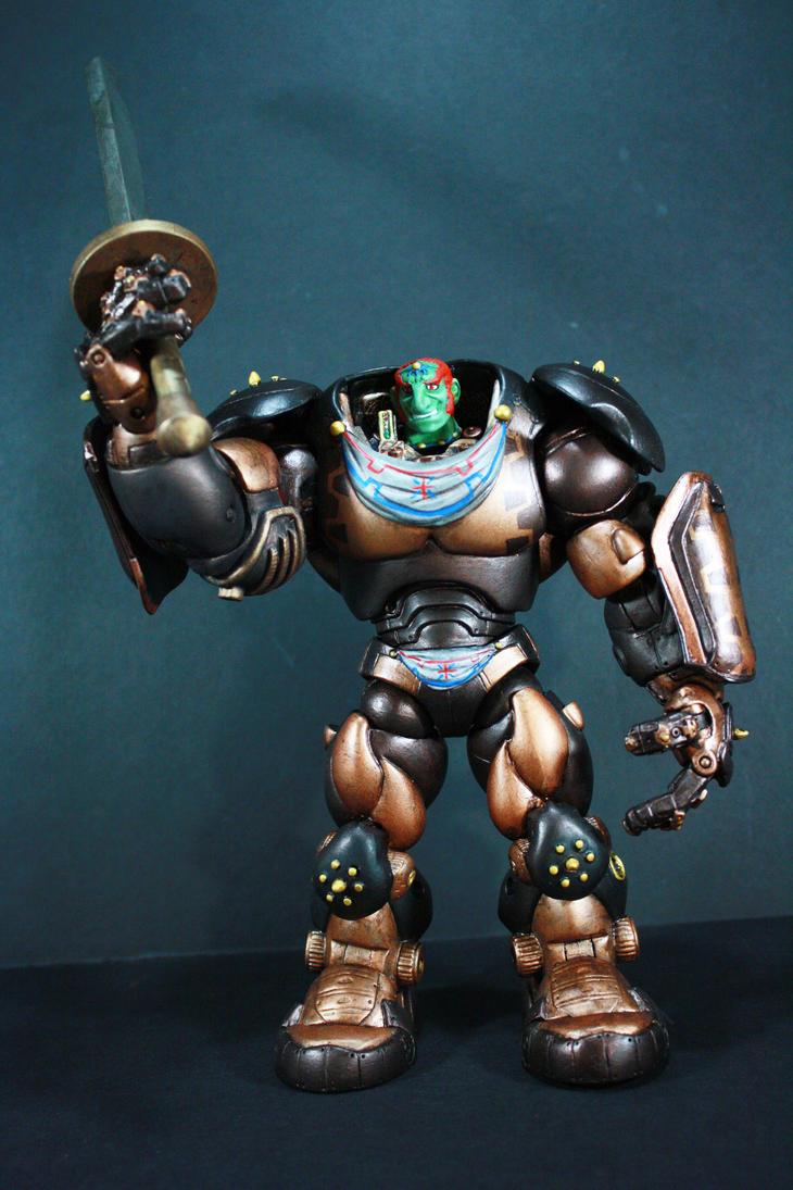 Ganondorf Mech by kodykoala