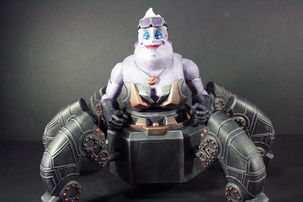 Bionic Ursula Custom Figure by kodykoala