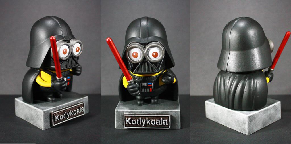 Custom Minion Darth Vader by kodykoala