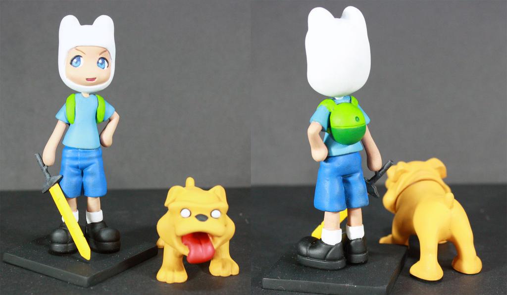 Finn and Jake Pinky Street by kodykoala