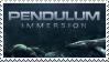 Pendulum - Immersion stamp by peculiarjotaro7