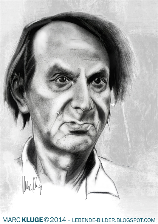 Michel Houellebecq by Gopherproxy