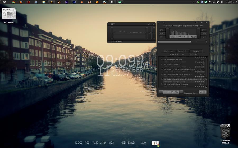 Mi Actual Escritorio Desktop by hopsersmerk