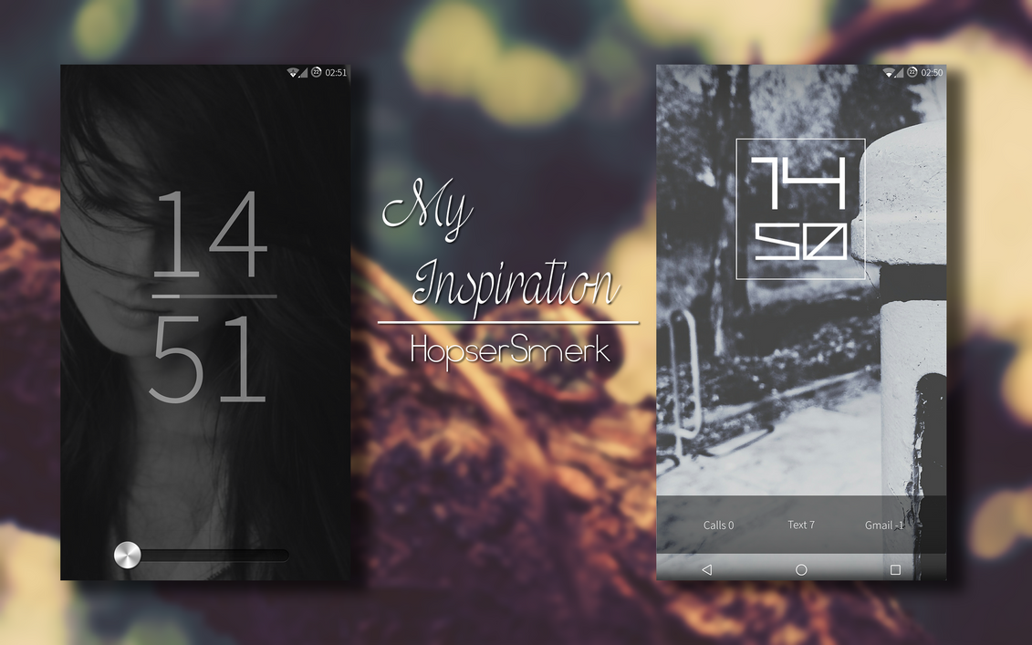 My Inspiration|Customising Android by hopsersmerk