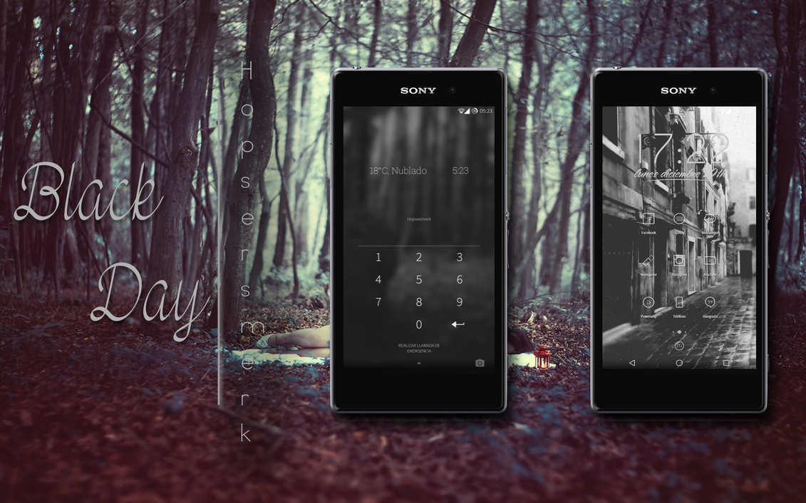 Black Day | Customising Android by hopsersmerk