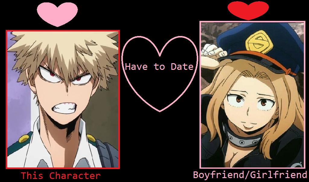 What if Bakugou dates Camie? by JokuSSJ on DeviantArt
