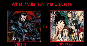 What if Mr. Sinister was in My Hero Academia?