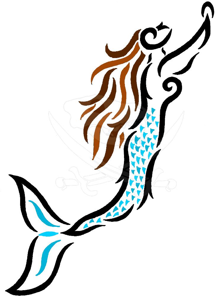 Tribal Mermaid by PleisarPup on DeviantArt