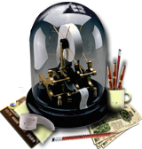 Steampunk Ticker Machine Virtuemart Shop Icon by yereverluvinuncleber