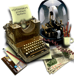 Another Steampunk Ticker Shop or Desktop Icon