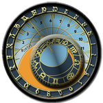 Steampunk startup Zodiac Icon