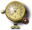 Steampunk CPU Gauge Icon by yereverluvinuncleber