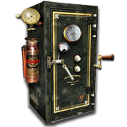 Steampunk Icon for Truecrypt by yereverluvinuncleber