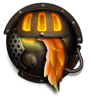 Steampunk Firefox Icon by yereverluvinuncleber