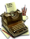 Steampunk Word Processor Icon Microsoft Word