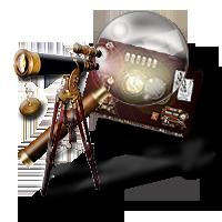 Steampunk Icon for TeamViewer / Remote Desktop by yereverluvinuncleber