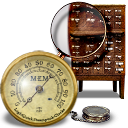 Steampunk Task Manager Icon by yereverluvinuncleber