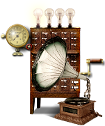 Steampunk Audio Icon (VLC) by yereverluvinuncleber